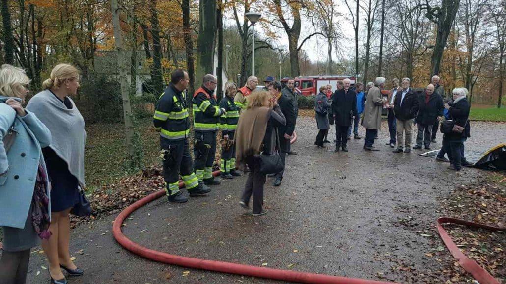 Super goede actie van de brandweer