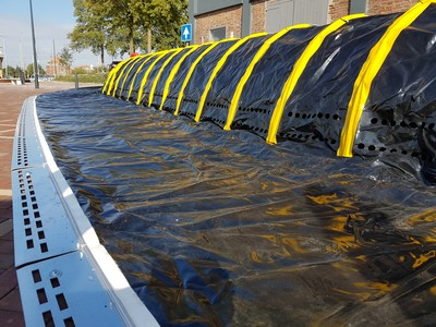 Mobielewaterkering Steenbergen