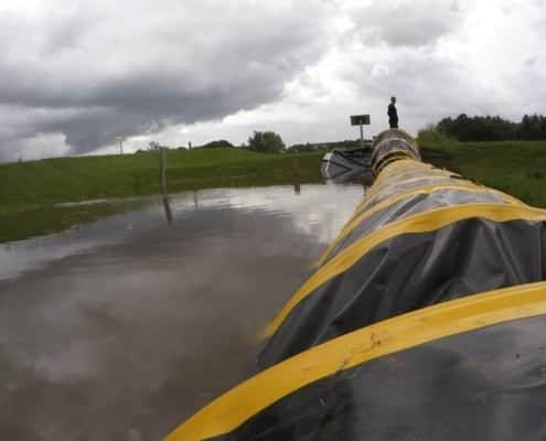 Mobielewaterkering testlocatie