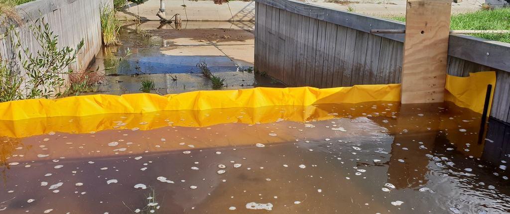 bescherming garage tegen water