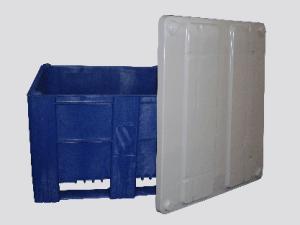 Pallet box voor opslag tubebarrier