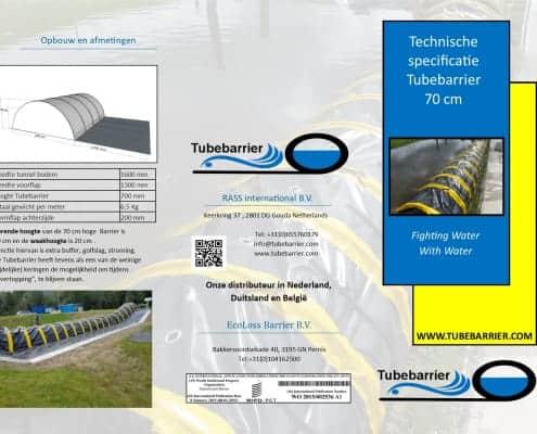 Technische Brochure Tubebarrier Nederlands
