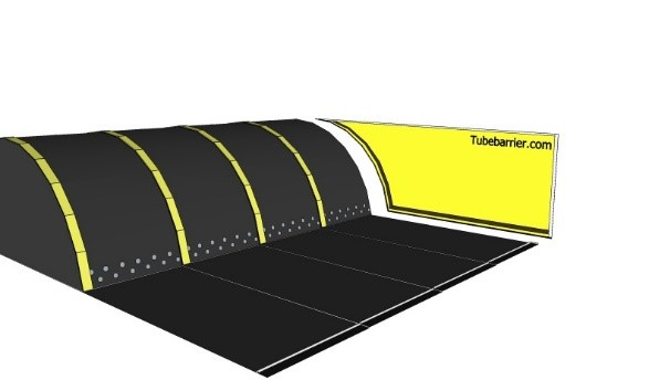 zijwand tubebarrier